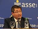 Presidente de ASSE, Leonardo Cipriani