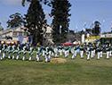 Desfile en el ruedo de la Expo Prado