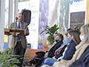 Discuros del presidente de la Asociación Rural del Uruguay, Gabriel Capurro