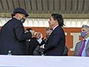 Presidente Luis Lacalle Pou, participó del cierre de la edición n.º 115 de la Expo Prado
