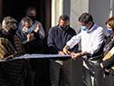 Autoridades en inauguración de nueva Casa del Desarrollo de la Niñez en Rivera