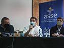 Álvaro Delgado, Leonardo Cipriani e Ignacio Ascione