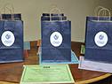 Acto de entrega de acreditación de culminación de ciclo básico a los participantes del convenio Cecap-CES