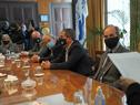 Suscripción de acuerdo entre Administración Nacional de Puertos y empresa que construirá y explotará un muelle en terminal marítima de Montevideo