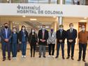 Ministro de Salud Pública, Daniel Salinas, encabezó visita y recorrida al hospital de ASSE en colonia