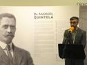 Inauguración de exposición fotográfica sobre Manuel Quintela