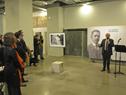 Ministro de Educación y Cultura, Pablo da Silveira, encabezó inauguración de exposición fotográfica sobre Manuel Quintela
