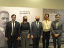 Autoridades presentes en inauguración de exposición fotográfica sobre Manuel Quintela