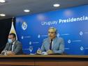 Ministro de Salud Pública, Daniel Salinas, y Robert Silva, titular de la Administración Nacional de Educación Pública