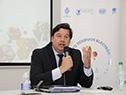 Ministro de Ambiente, Adrián Peña