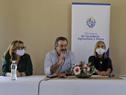 Autoridades gubernamentales en conmemoración del Día Internacional de la Mujer Rural