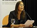 Presidenta de INISA, Rosanna de Olivera
