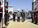 Llegada del ministro de Defensa, Javier García, al aniversario del Estado Mayor de la Defensa