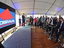 Presentación del avance de obras del nuevo espacio comercial y de transacciones portuarias de la empresa Lobraus en la terminal de Montevideo