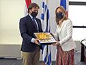 Presidente Luis Lacalle Pou entregó cartas credenciales a nueva embajadora de Uruguay en España