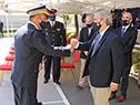 Ministro del Interior, Jorge Larrañaga, participó de la celebración del 133.° aniversario de la creación de los servicios de Bomberos en Uruguay