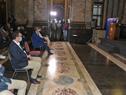 Ceremonia de entrega de reconocimientos de la primera edicón de los Premios INJU en el Salón de los Pasos Perdidos del Palacio Legislativo