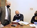 Ministro de Educación y Cultura, Pablo da Silveira, recorre instalaciones del AGN