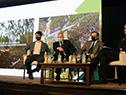 Carlos María Uriarte y Adrián Peña expusieron en desayuno de trabajo con la Sociedad de Productores Forestales del Uruguay