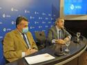 Ministros Daniel Salinas y Jorge Larrañaga