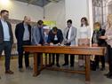 Autoridades de Mevir y el Sodre firmaron un convenio de cooperación para difundir espectáculos culturales en pequeñas localidades