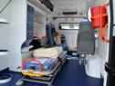 Entrega de nueva ambulancia especializada para el centro auxiliar de Juan Lacaze, departamento de Colonia