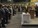 Conmemoración de los 82 años de la Noche de los Cristales Rotos