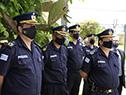 Autoridades en inauguración de subcomisaría en Empalme Olmos