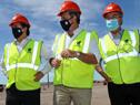 Autoridades de Gobierno realizaron recorrida por obras de UPM en Paso de los Toros