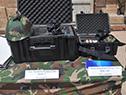 Equipamiento militar proveniente de China donado al Ministerio de Defensa