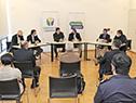 Salinas y Delgado encabezaron reunión evaluatoria de la emergencia sanitaria