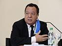 Director del Sistema Nacional de Emergencias, Sergio Rico