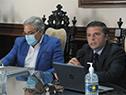 Conferencia de prensa de los titulares de la ANEP
