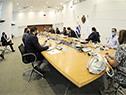 Presidente Luis Lacalle Pou encabeza el Consejo de Ministros en el piso 11 de la Torre Ejecutiva