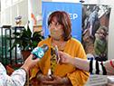 Directora del CEIP, Graciela Fabeyro