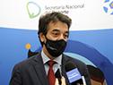 Subsecretario nacional del Deporte, Pablo Ferrari