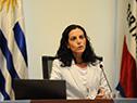 Ministra de Economía y Finanzas, Azucena Arbeleche, presentó, vía streaming, resultados fiscales correspondientes a 2020
