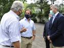 Presidente de la República Oriental del Uruguay, Luis Lacalle Pou, recibió a su par de la República del Paraguay, Mario Abdo Benítez