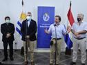 Conferencia de prensa del Presidente de la República Oriental del Uruguay, Luis Lacalle Pou, y de su par de República del Paraguay, Mario Abdo Benítez