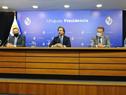 Presidente de la República, Luis Lacalle Pou, encabezó conferencia de prensa sobre plan de vacunación contra COVID-19