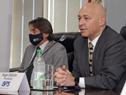 Conferencia de prensa de autoridades del Banco de Previsión Social