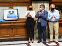Acto de lanzamiento del sello conmemorativo 20 años de la Ursec