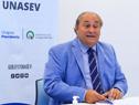 Alejandro Draper, presidente de la Unidad Nacional de Seguridad Vial (Unasev), encabezó sesión de la Junta Nacional de Seguridad Vial