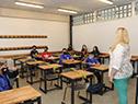 Inicio de clases en el Liceo N° 76