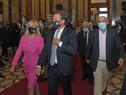 Llegada del Presidente Lacalle Pou al Palacio Legislativo