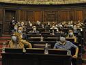 Legisladores asistentes