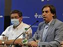 Palabras del presidente de Mevir, Juan Pablo Delgado