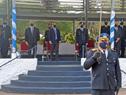 Acto de egreso de 112 Oficiales Ayudantes de la Policía Nacional denominada Guardianes de la Libertad