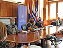Ministra de Vivienda, Irene Moreira, encabeza primera reunión del gabinete del sistema público de vivienda
