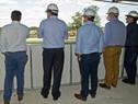Visita al estadio Campeones Olímpicos, en Florida, donde se proyecta una nueva policlínica